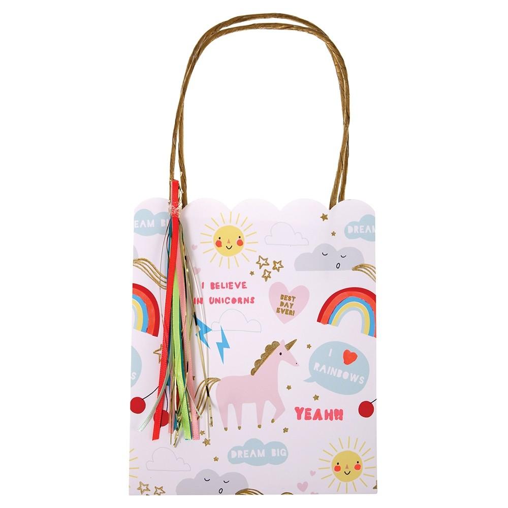 Meri Meri Rainbow & Unicorn Party Bags