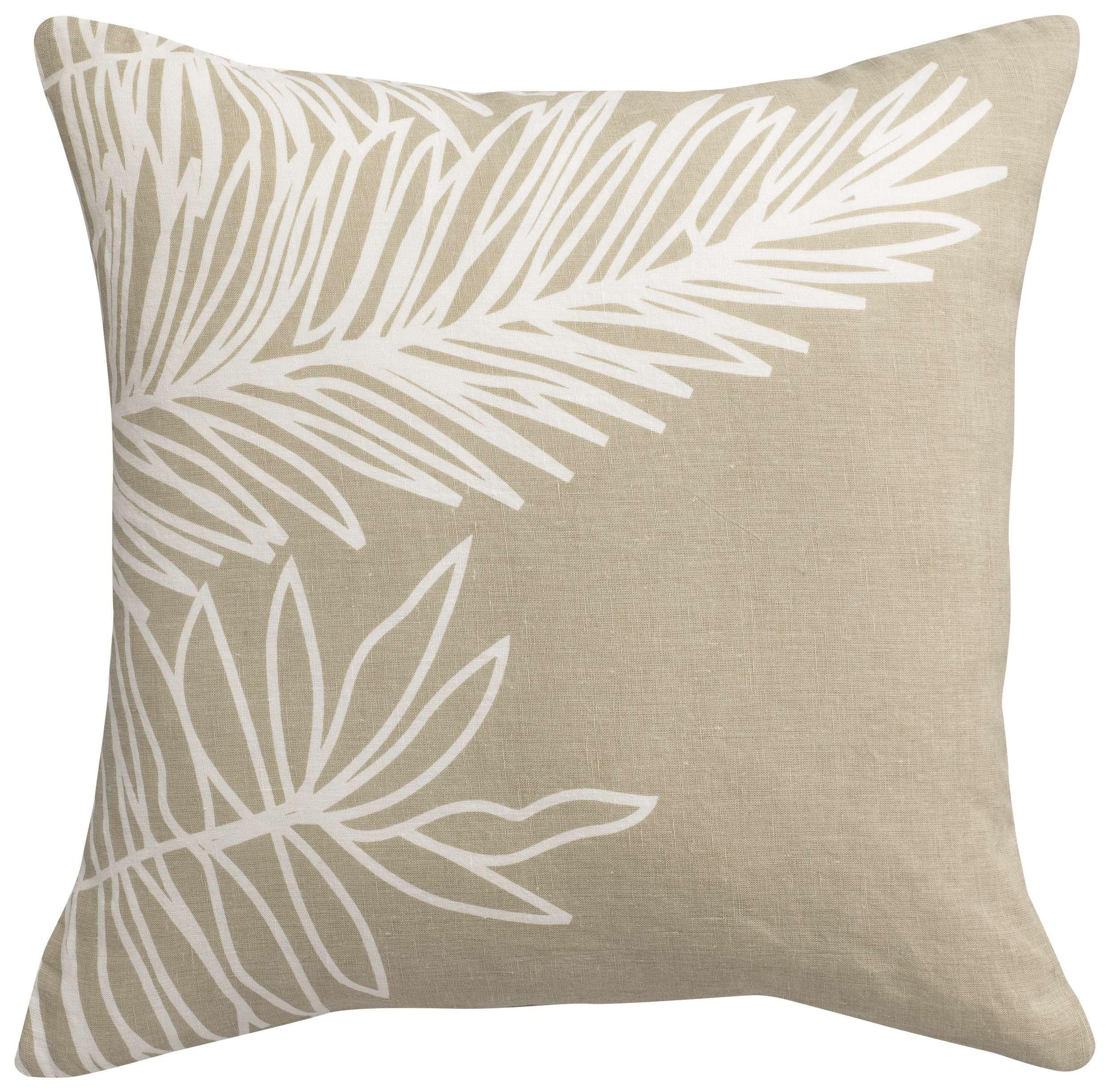 Vivaraise Cushion Zeff Palm Craie