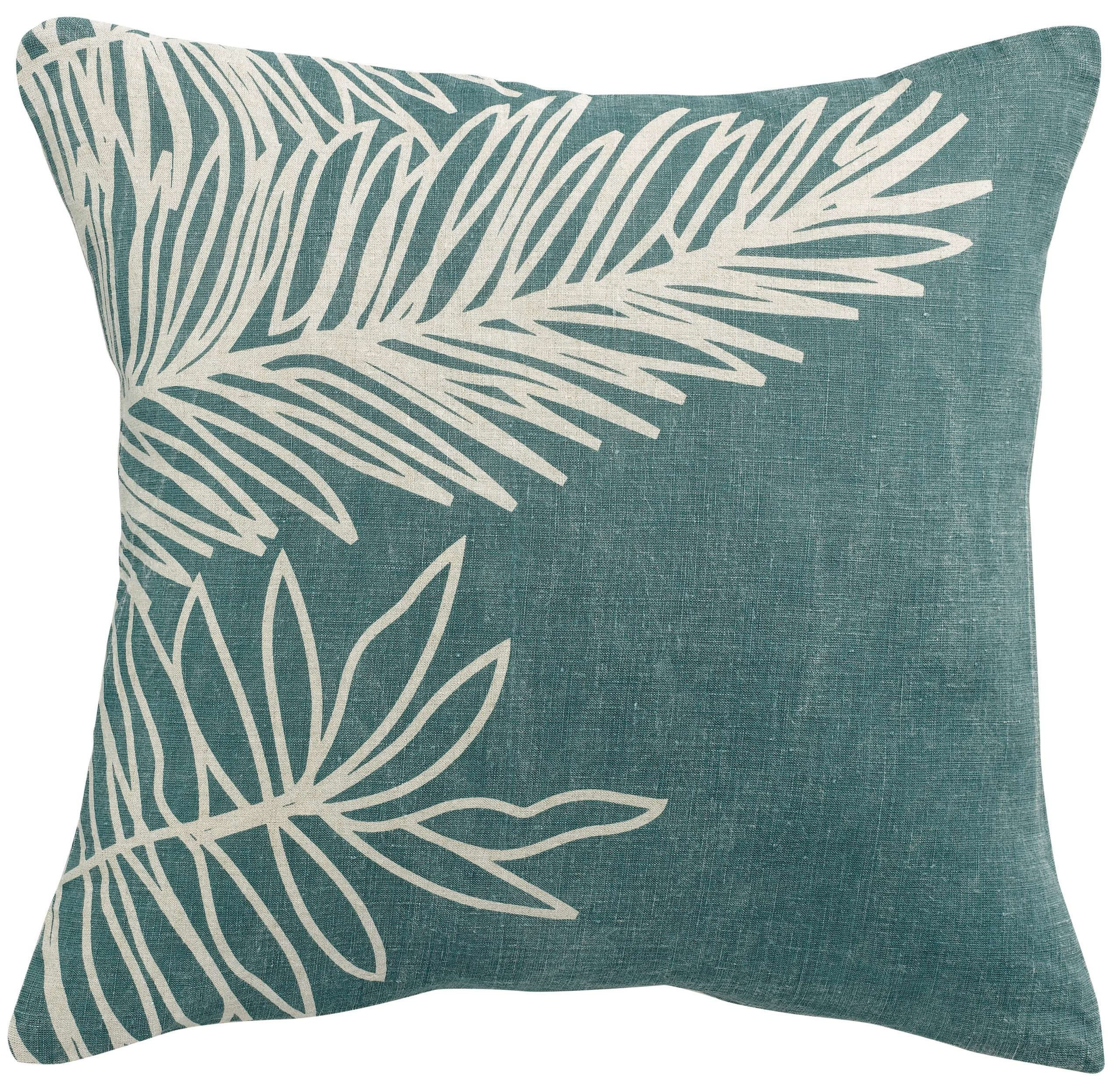 Vivaraise Cushion Zeff Palm Prusse