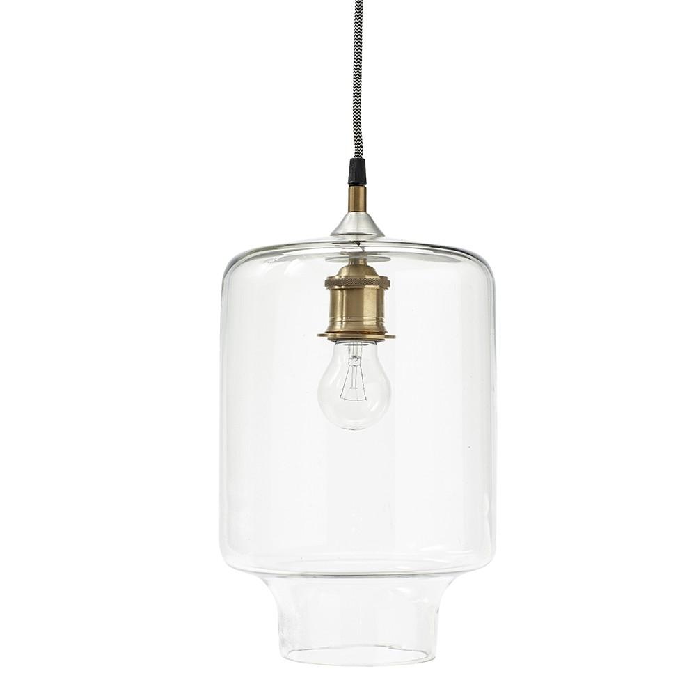 Hübsch Simple glass ceiling lamp