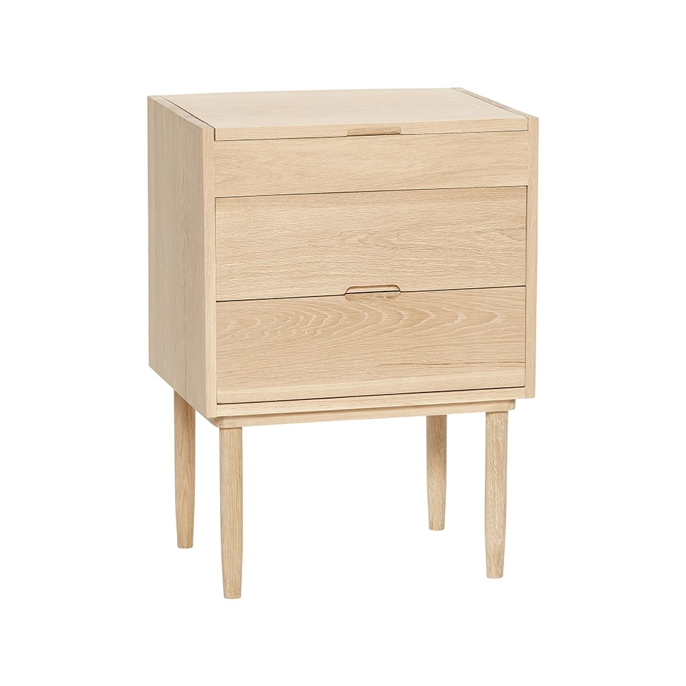 Hübsch Small Oak Cabinet