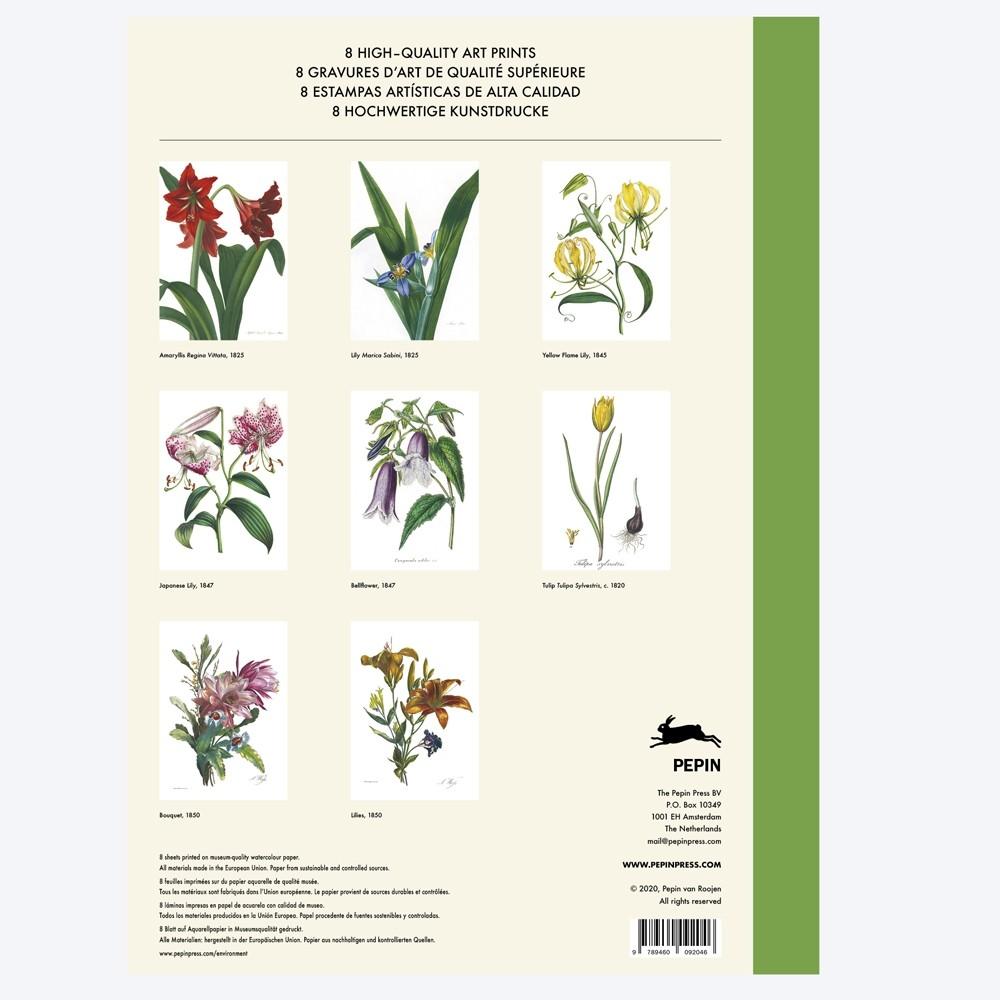 Pepin Press Art Prints Portofolio Flower Prints