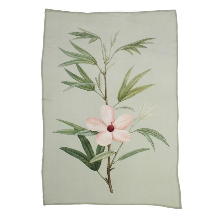 A La Printed Viscose Wall Hanging Flower