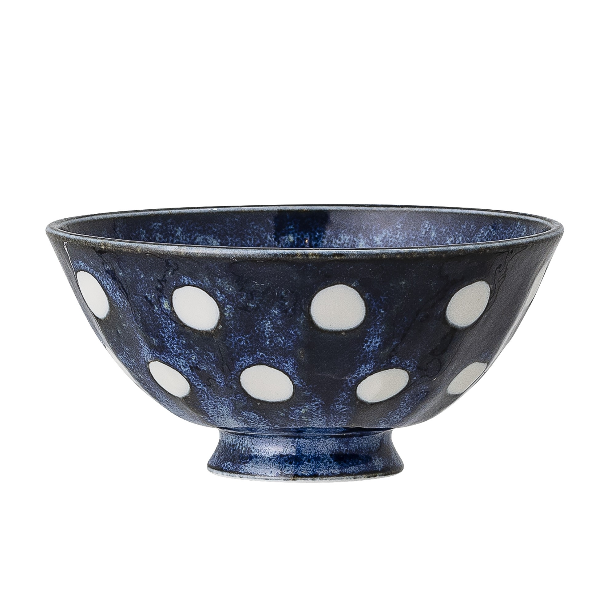 Bloomingville Blue Porcelain Camellia Bowl