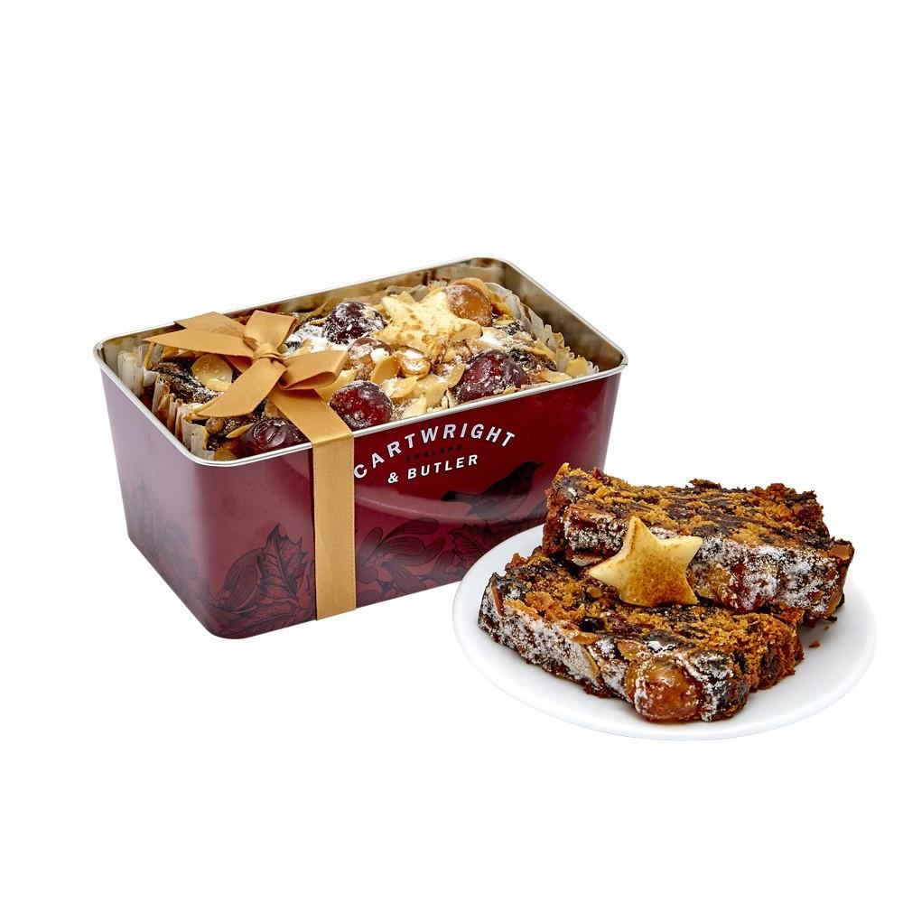 Cartwright & Butler Christmas Loaf Cake