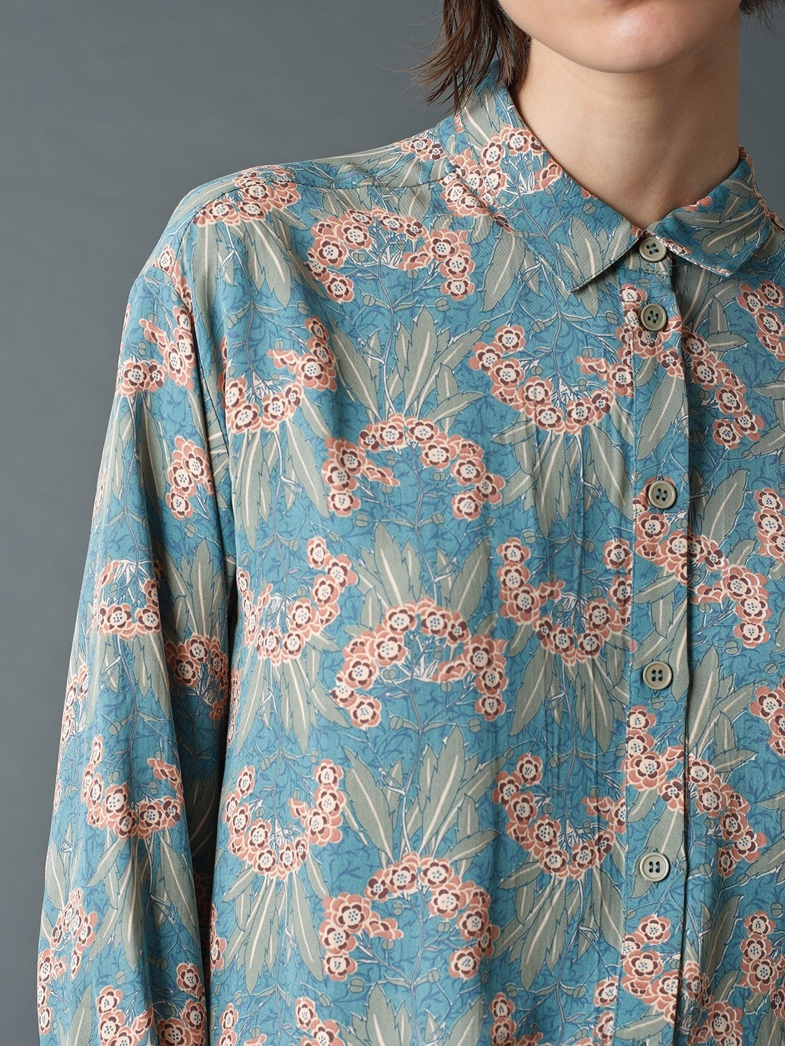 Sienna Shirt with 20's Print
