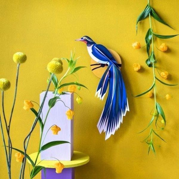 Studio Roof Paradise Bird Flores