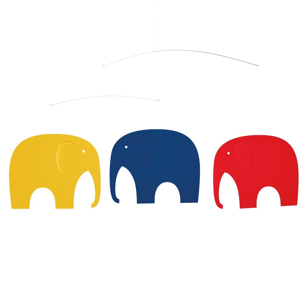 Flensted 'Elephant Party' Mobile