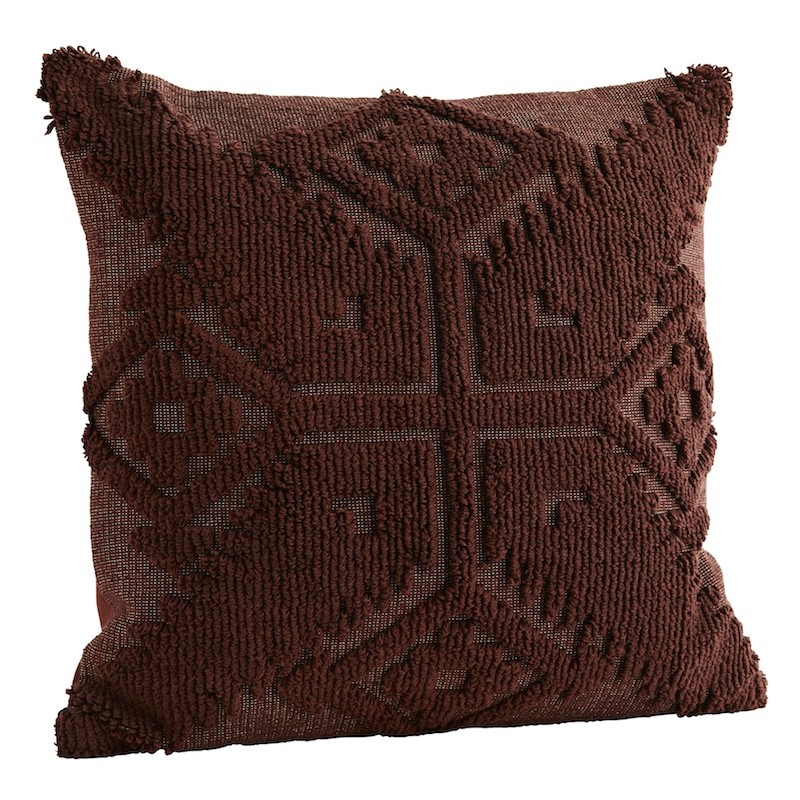 Madam Stoltz Ruby Wine Cushion Cover