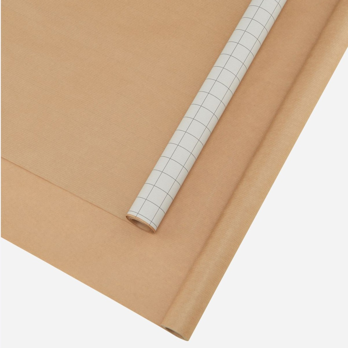 Monograph S/2 Kraft Rolls Brown and White