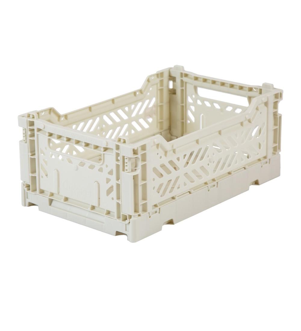 Aykasa Foldable Crate Midi Coconut Milk