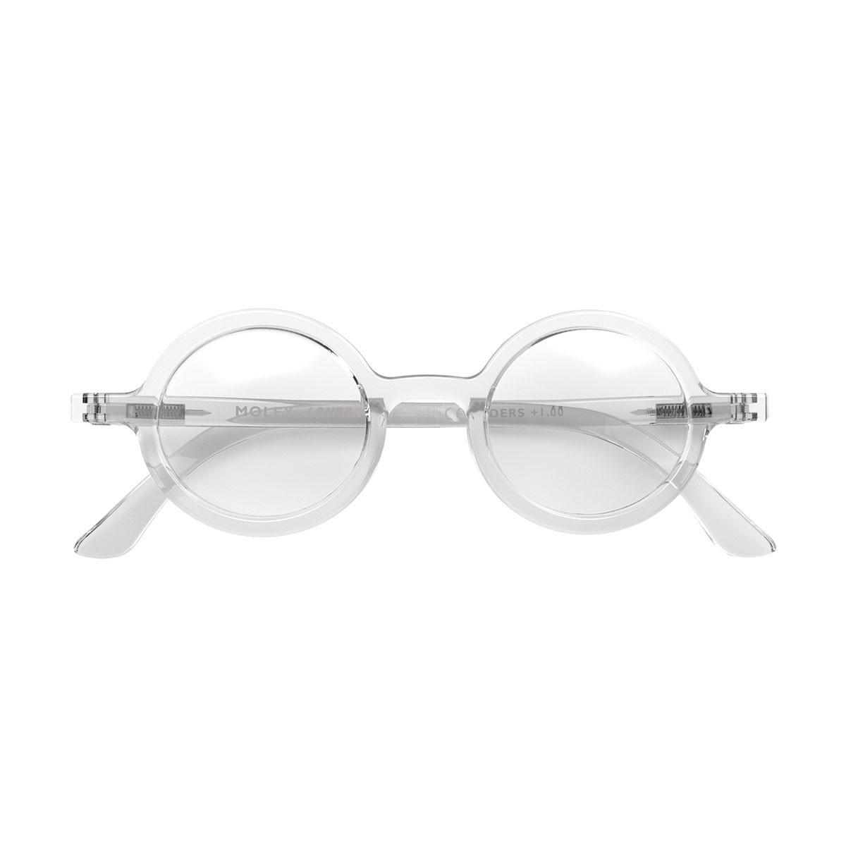 London Mole Moley Blue Blocker Glasses Transparent