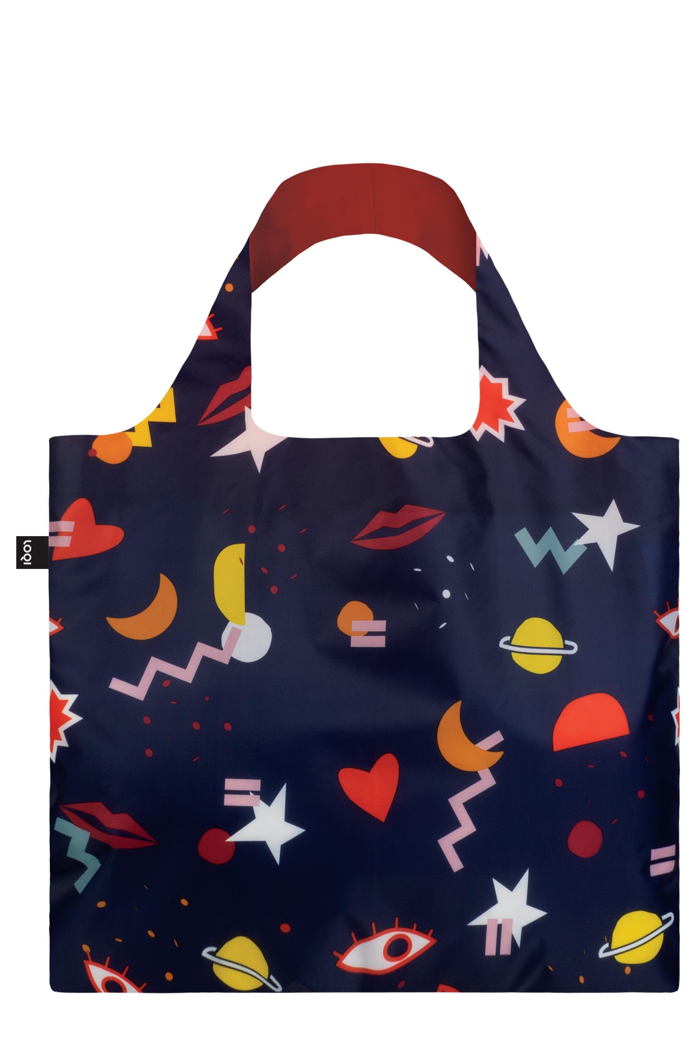 Loqi Night Night Foldaway Tote Bag