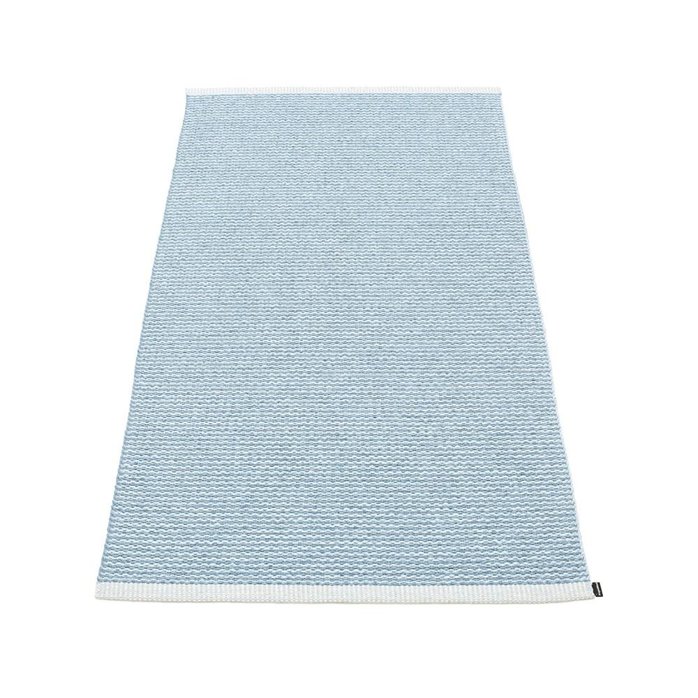 Pappelina Mono Rug Misty Ice Blue