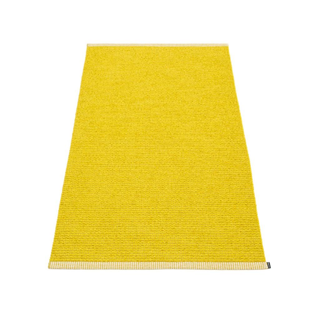 Pappelina Mono Rug Mustard