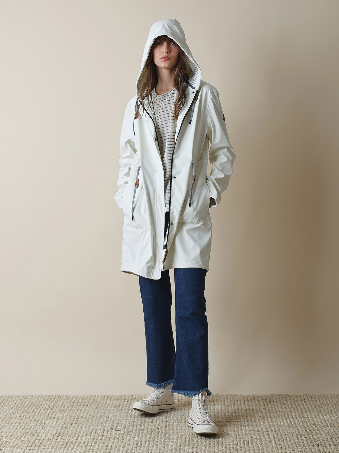Parker Raincoat with Hood