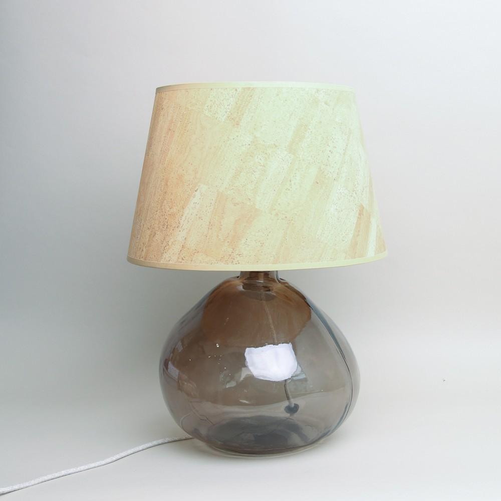 Jarapa Large 39cm Recycled Simplicity Lamp Smoke