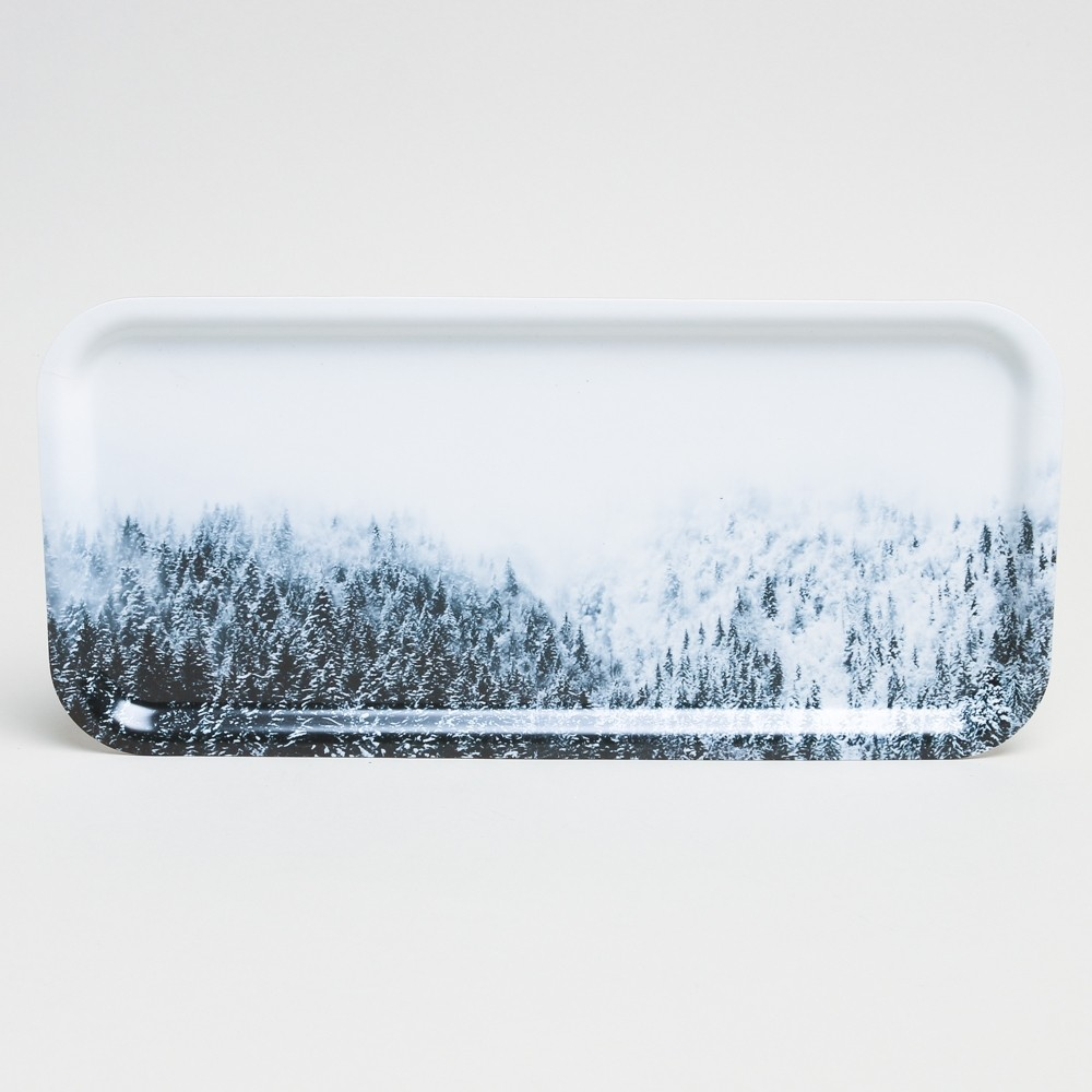 Hjem Swedish Birchwood Tray Alpine Forest