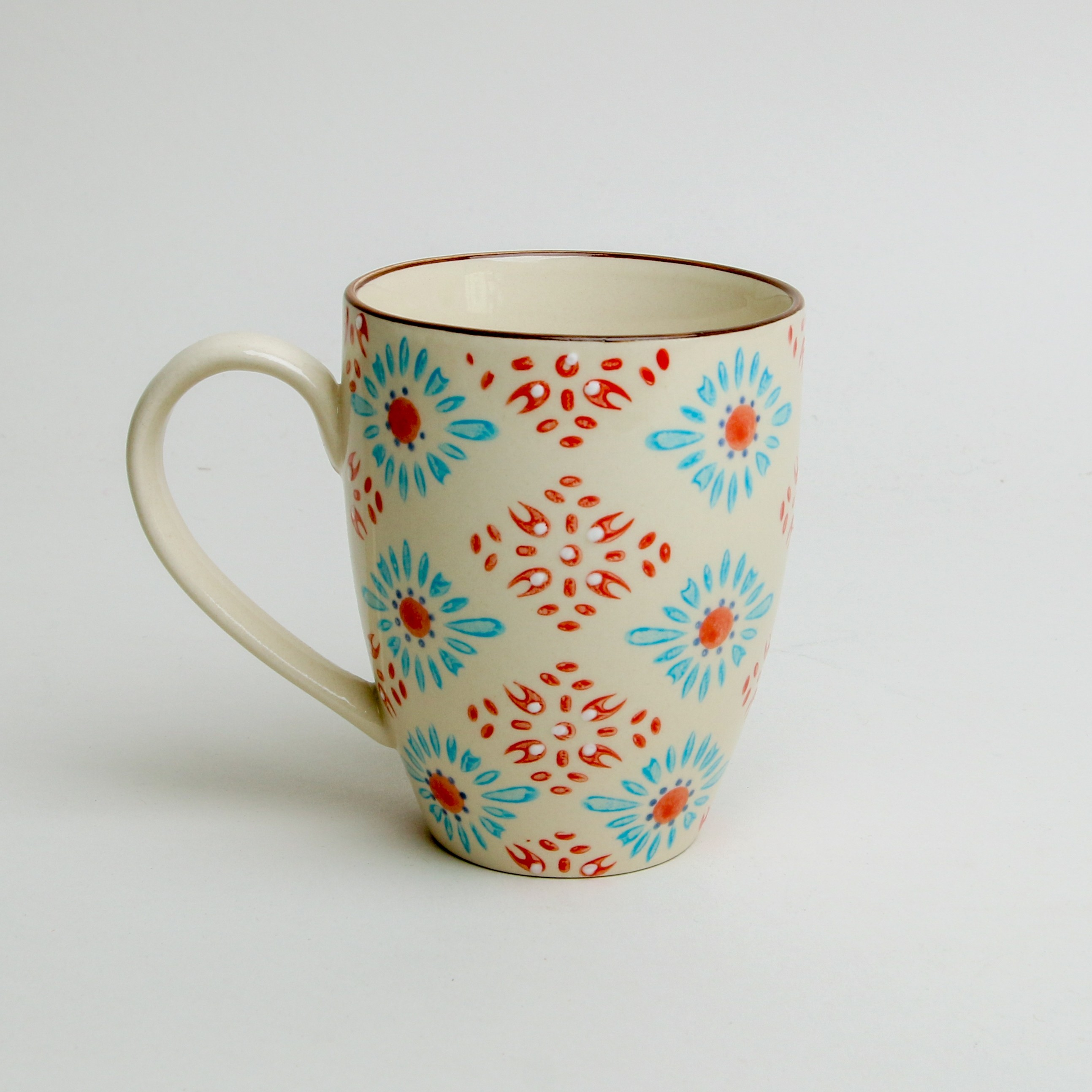 Bohemia Mug Orange/Blue