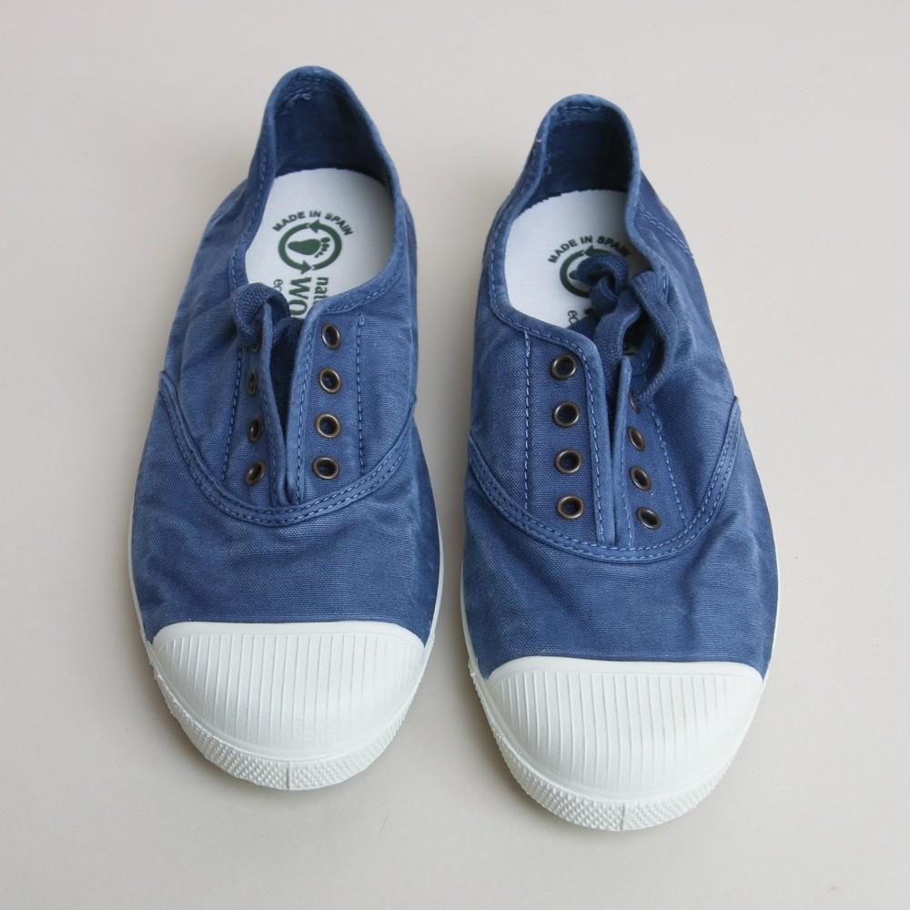 Natural World Lavanda Tennis Sneakers Marine Blue