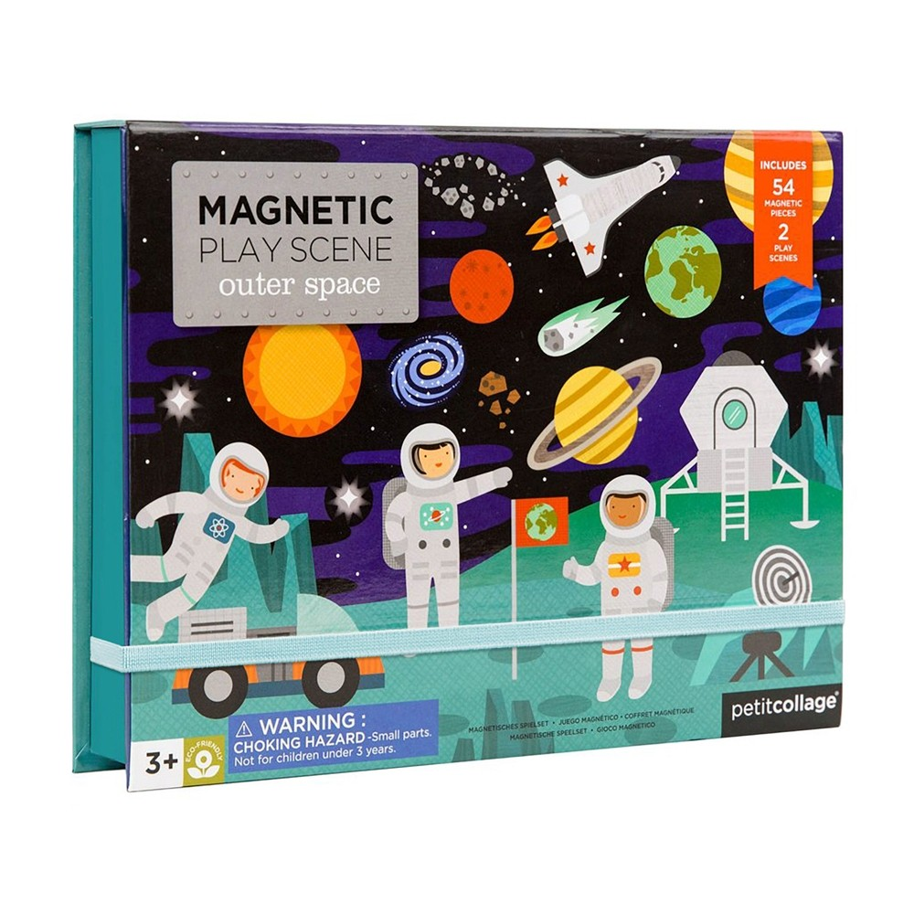 Wild and Wolf Magnetic Space Play Set