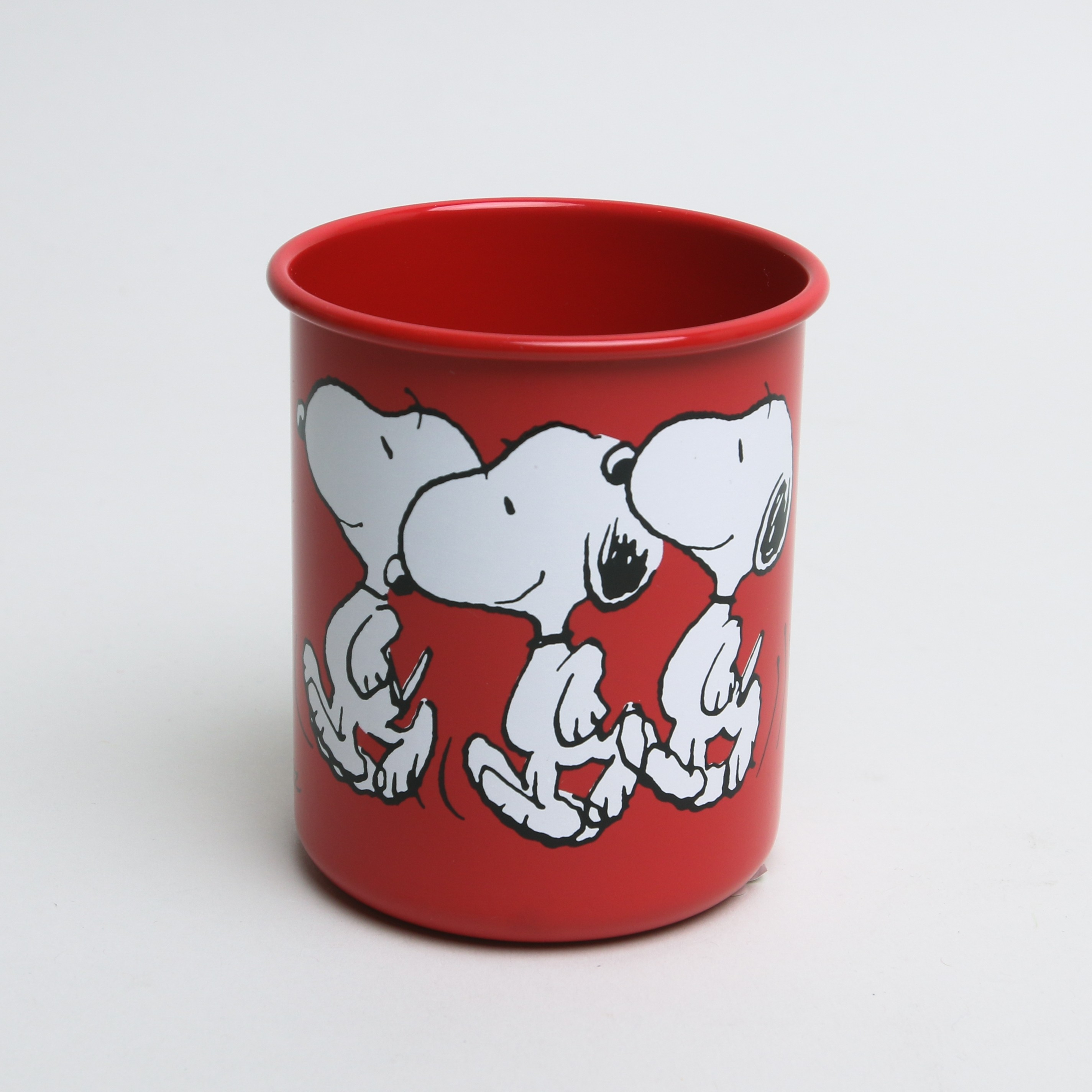 Snoopy Pen Holder Red