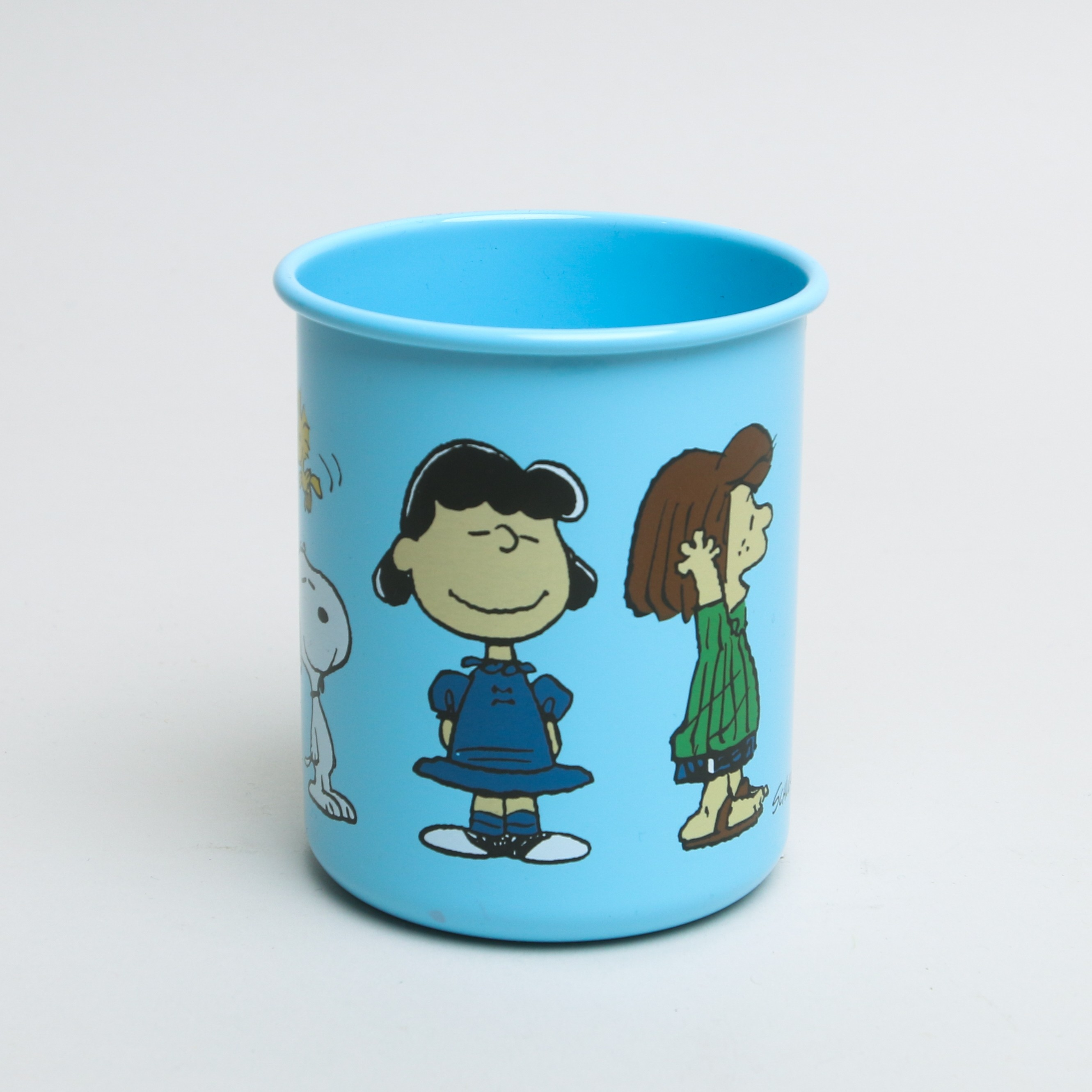 Snoopy and Friends Blue Pencil Pot