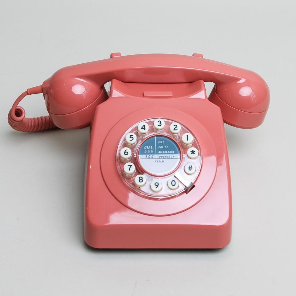 Series 746 Phone Terracotta