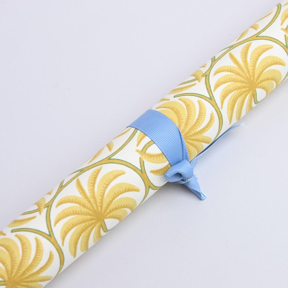 Bungalow DK Handmade Paper Curry Palm Frond Motif