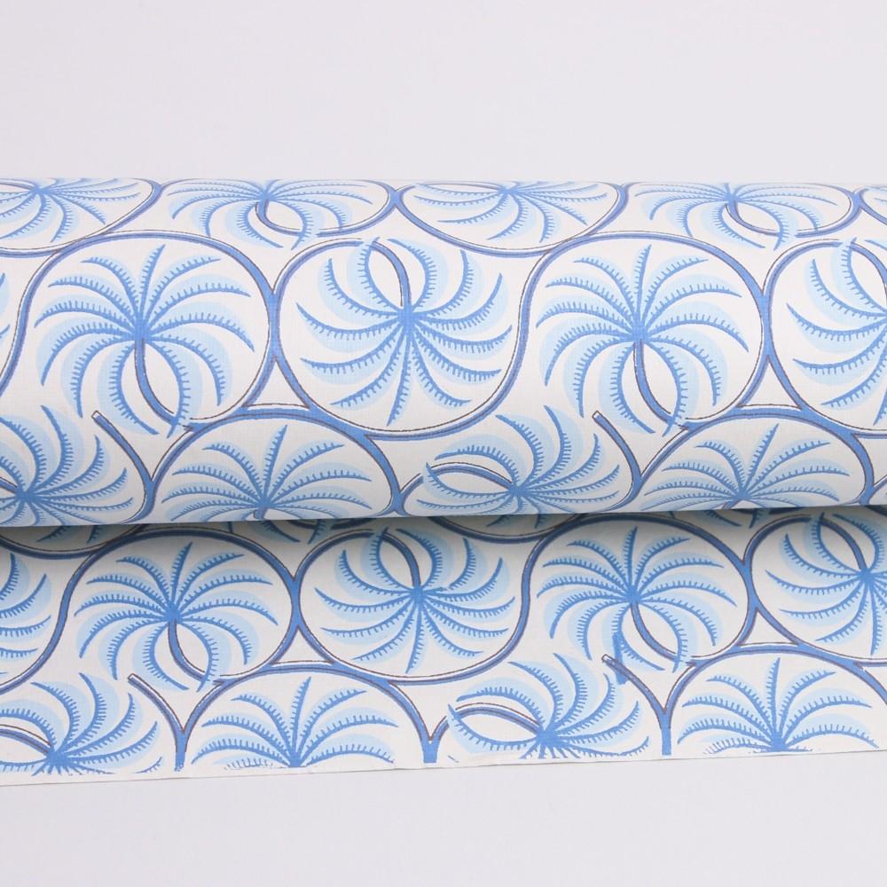 Bungalow DK Handmade Paper Palm Sky Blue