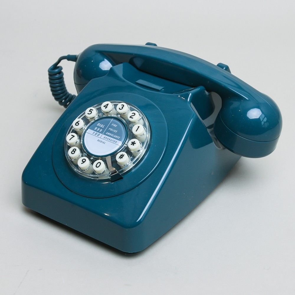 Series 746 Phone Solid Blue