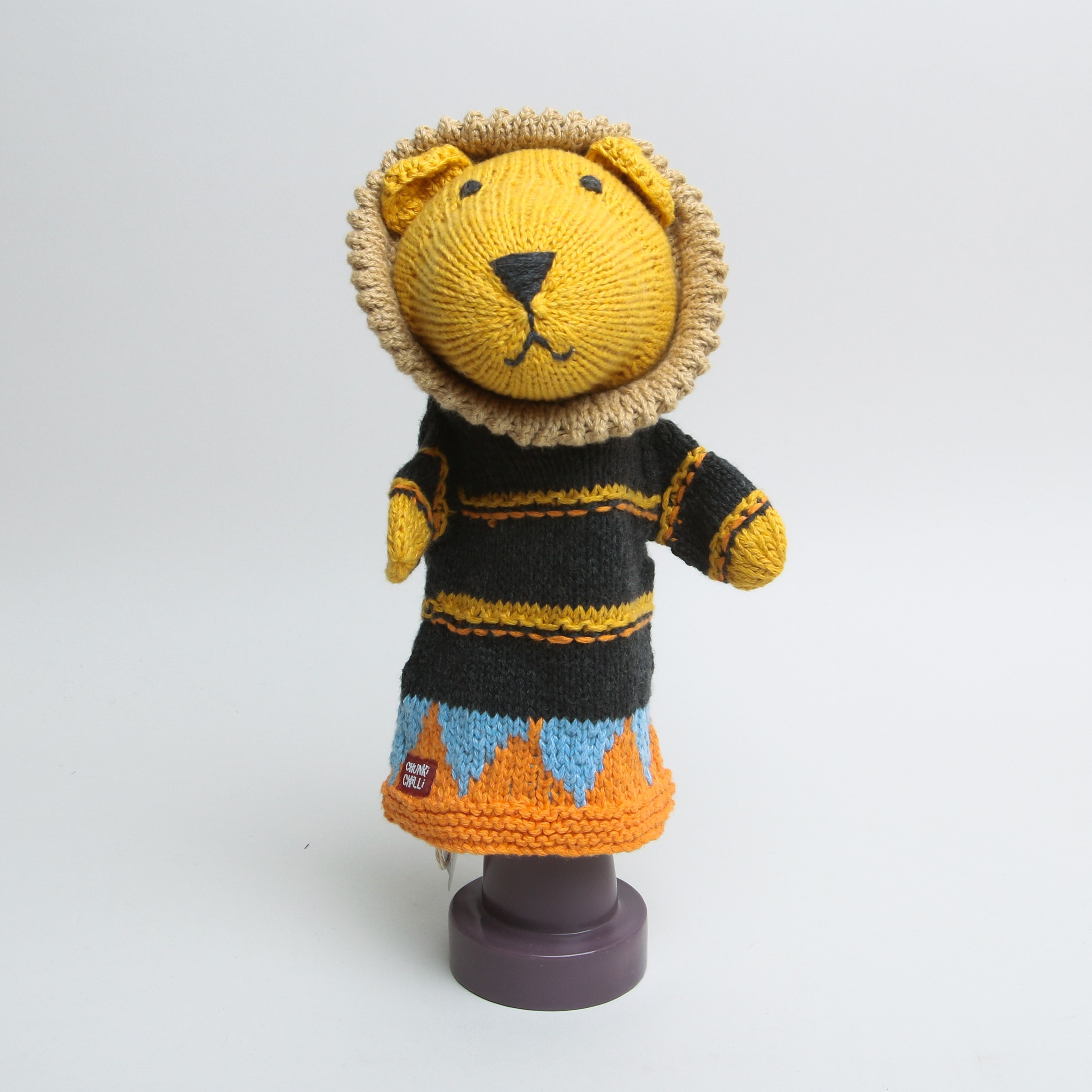Chunky Chilli Hand Puppet Lion