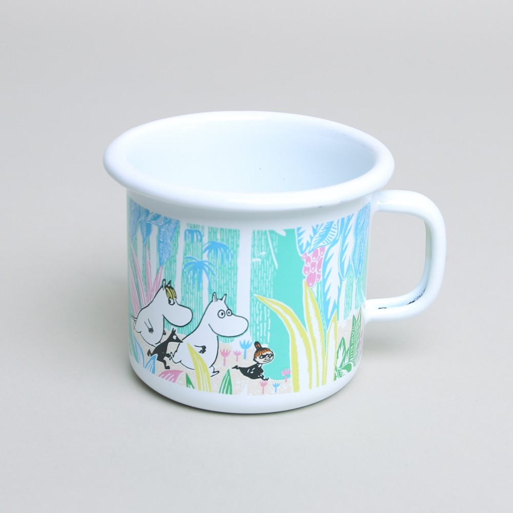 Muurla Moomin Enamel Mug Jungle