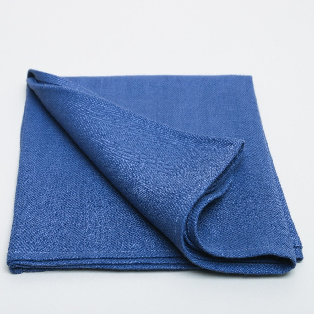 Printer + Tailor In The House Claudette Table Runner French Blue