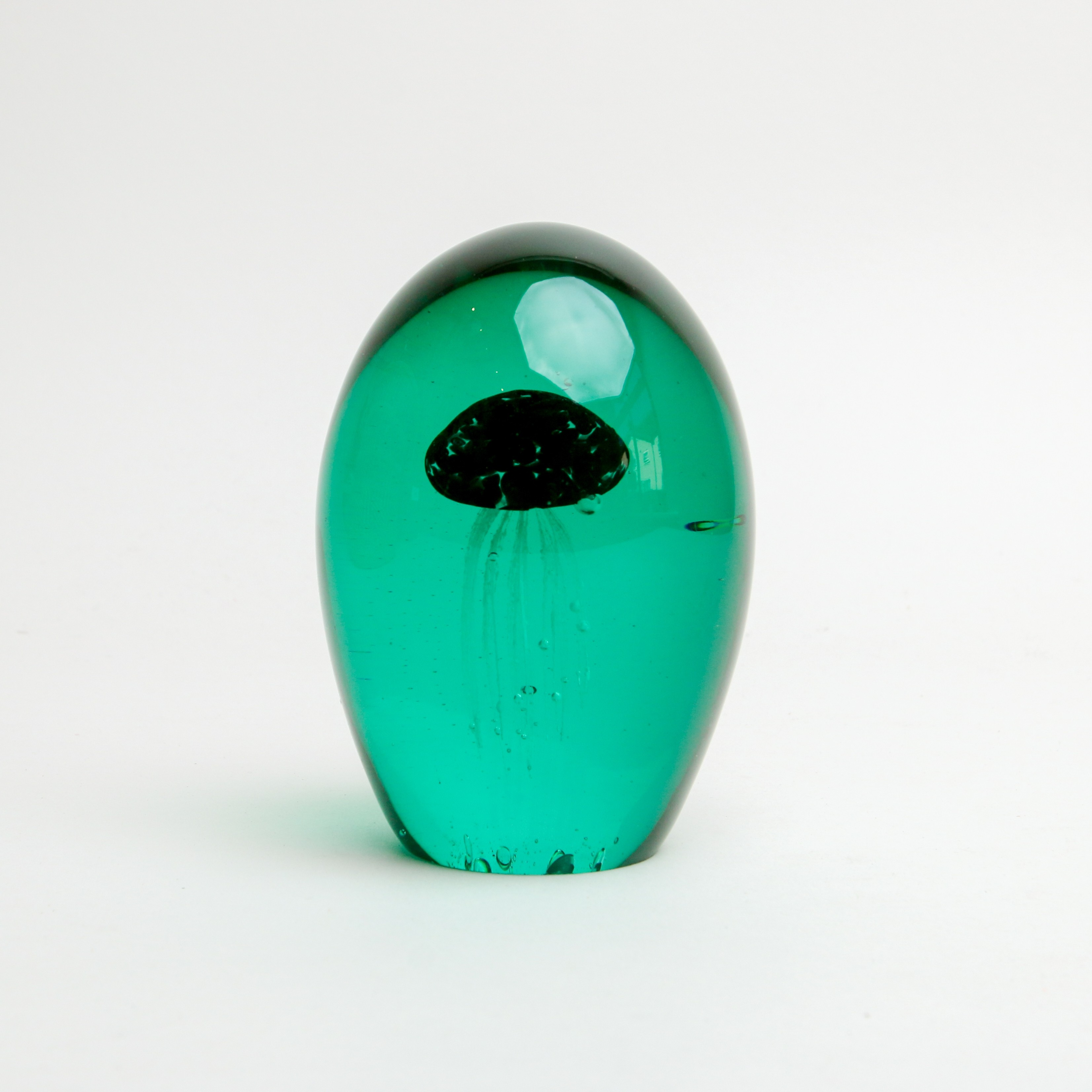 Sea Urchin Paper Weight Turquoise