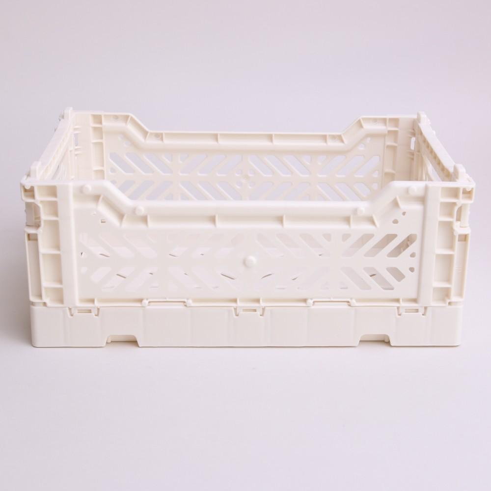 Aykasa Foldable Crate Coconut Milk Mini