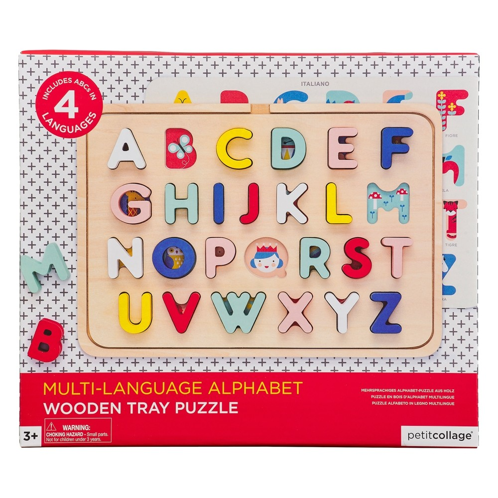 Wild and Wolf Multi-Language Alphabet Puzzle