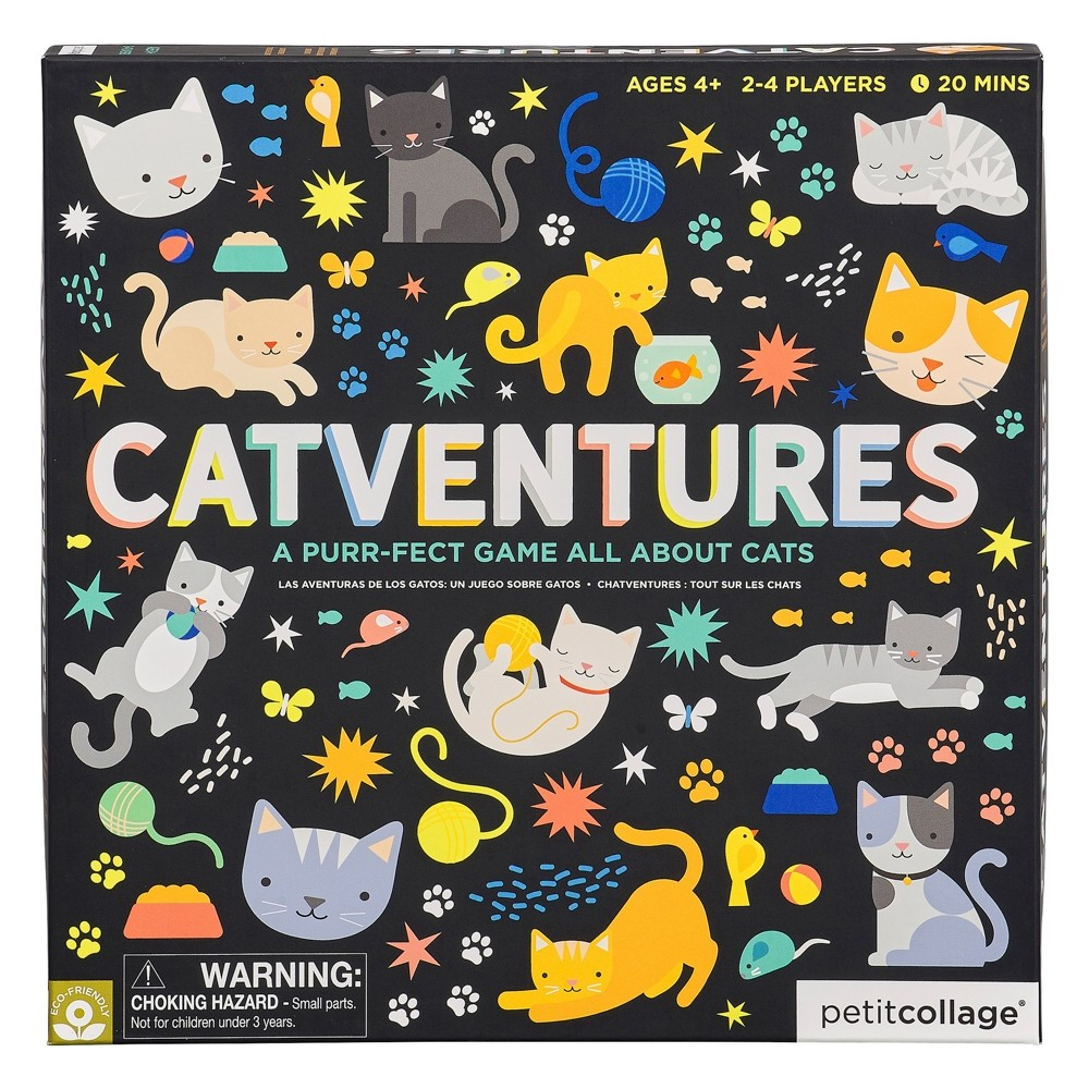 Wild and Wolf Catventures Board Game