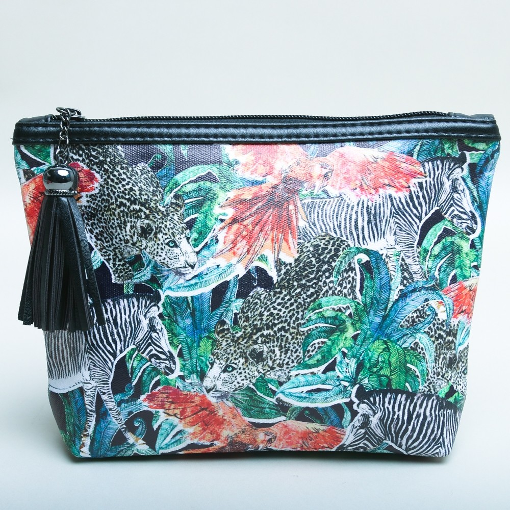 Jessica Russell Flint Cosmetic Bag 'Jungle Jungle'