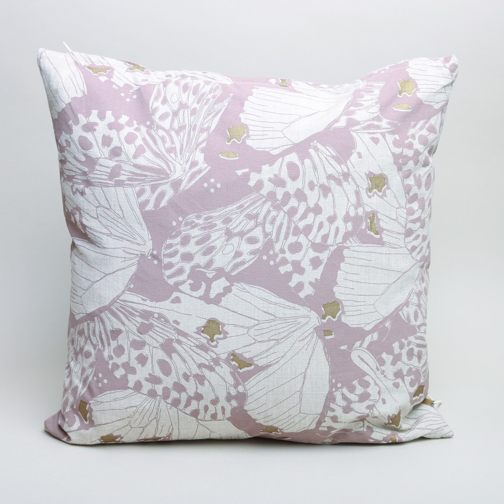 Raine & Humble Flutterby Cushion Mushroom Pink
