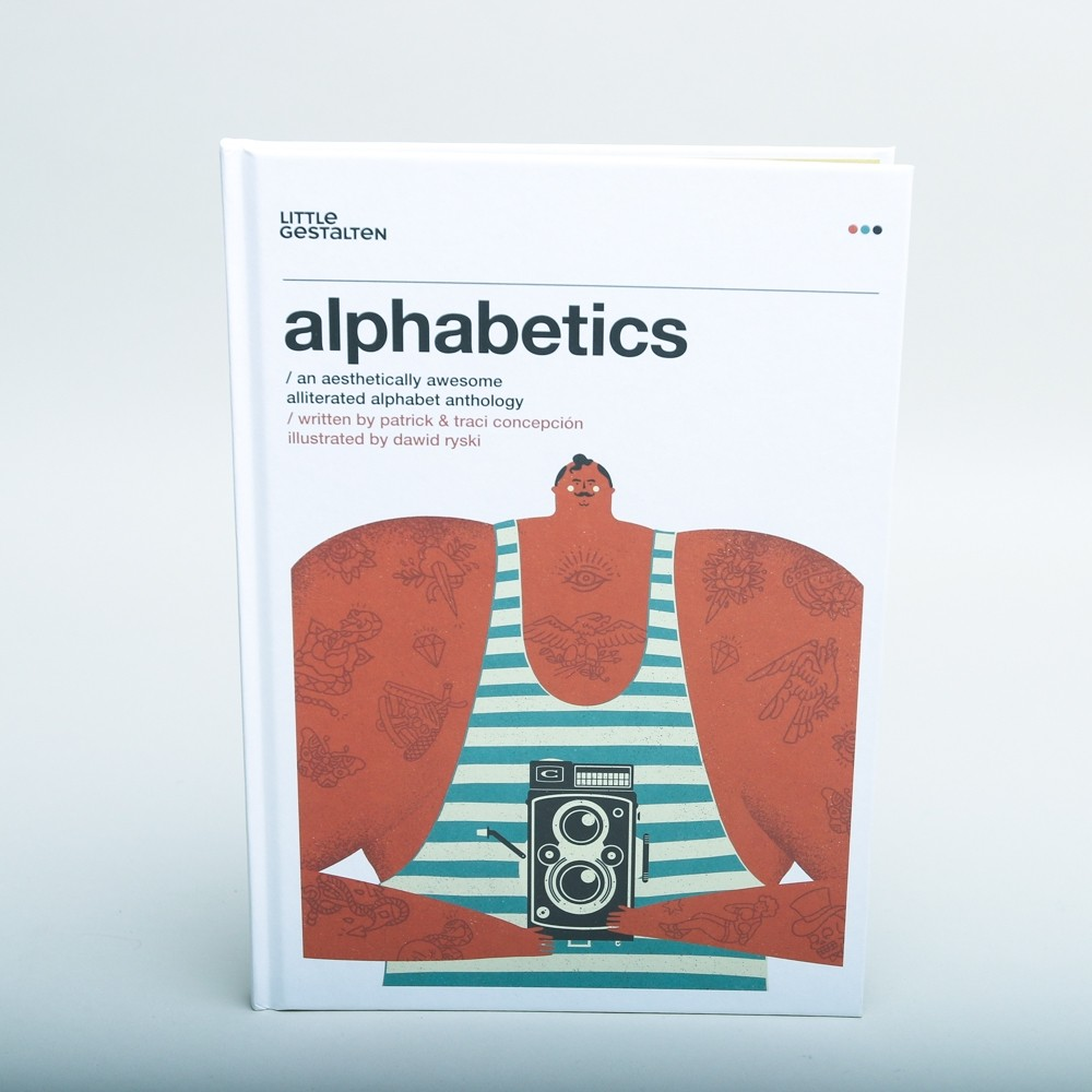 Alphabetics Book by Patrick and Traci Concepción
